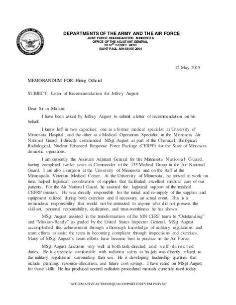 Air Flight Test Engineer Cover Letter by Air Letter Of Recommendation Character Letter United States Air Zachariah