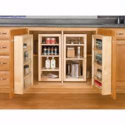 kitchen cupboard organizers swing out complete pantry system rev a shelf 4w series