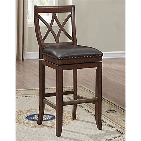 bed bath and beyond hadley american heritage hadley stool in sable bed bath beyond