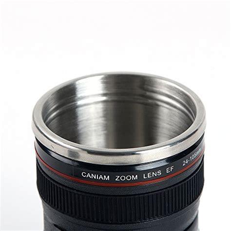 Mug Lensa White Canon Lens Mug Bahan Stainless Steel Ya miroo slr lens mug canon 12 oz travel coffee cup tea mug water mug stainless steel