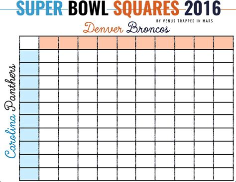 Bowl Spreadsheet Template by Free Bowl Squares Template Excel Buff