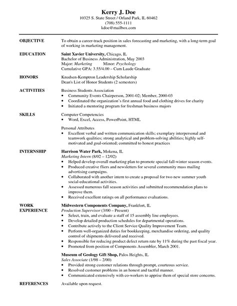sles of career objectives on resumes resume career objectives sales