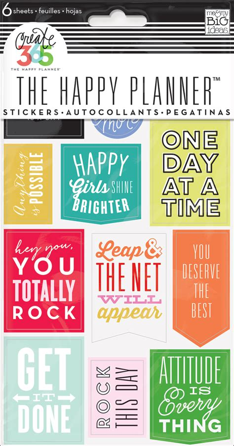 free printable planner quotes the happy planner diy fitness planner me my big ideas