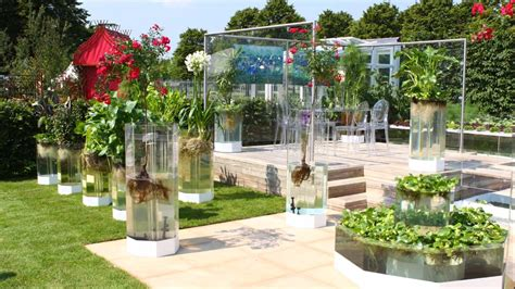 BBC News In pictures: Naked garden wins at Hampton Court