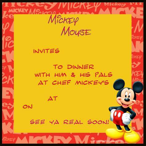 printable invitation to disneyland paris disney printable trip and event invitations free