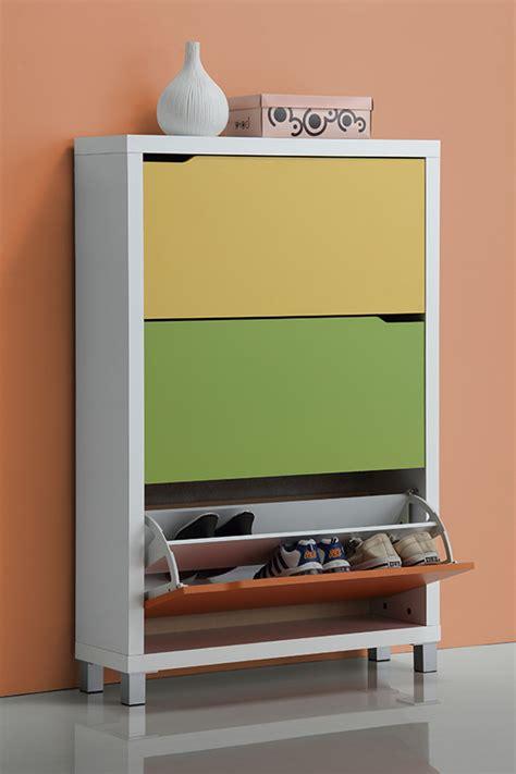 Baxton Studio Marsha Modern Shoe Cabinet by Baxton Studio Shoe Cabinets