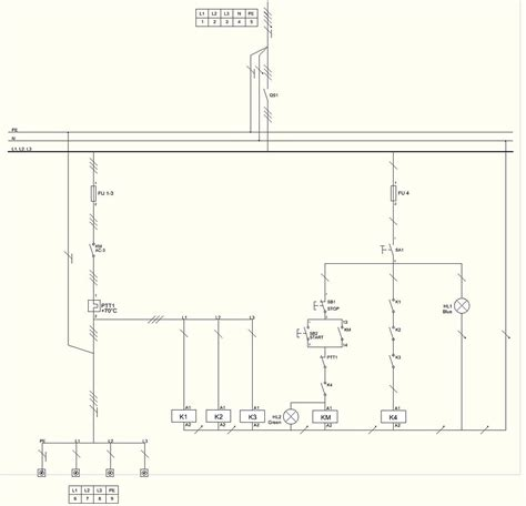 motor center wiring diagram mcc panel drawing pdf