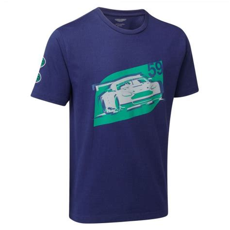 aston martin racing merchandise aston martin racing vantage gte racing car t shirt aston