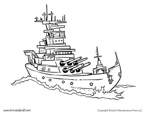 battleship coloring page tim s printables