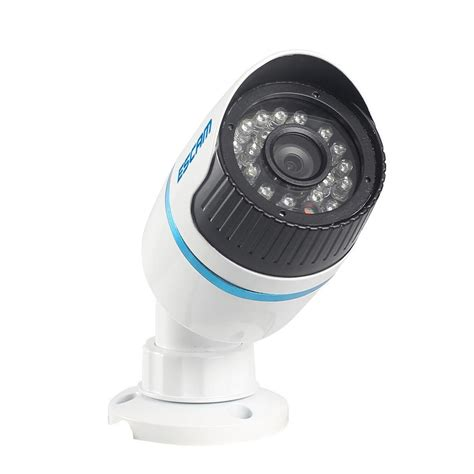 escam q630m waterproof bullet ip cctv 1 4 inch cmos 720p white jakartanotebook