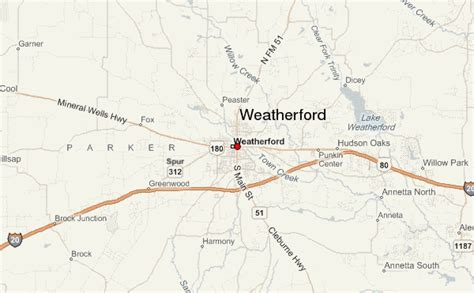 map weatherford texas weatherford location guide