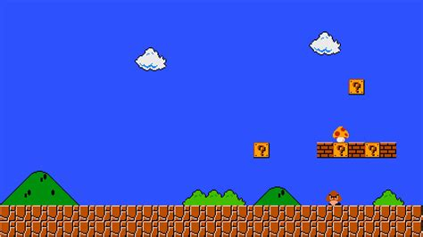 mario bros background pixel mario wallpapers images photos pictures backgrounds