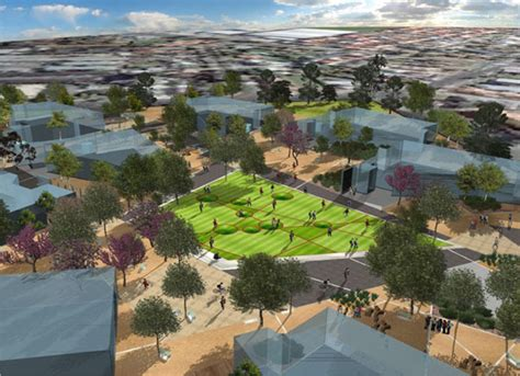Landscape Architecture Teaching Dandenong Education Precinct Dandenong Australia