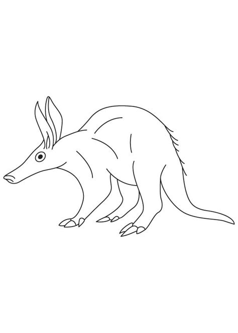 ant and the aardvark free coloring pages