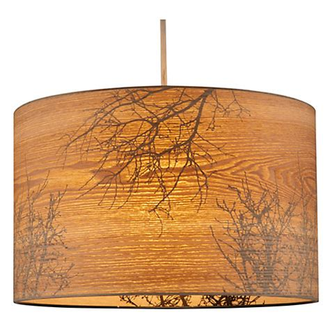 buy john lewis woodland drum shade john lewis