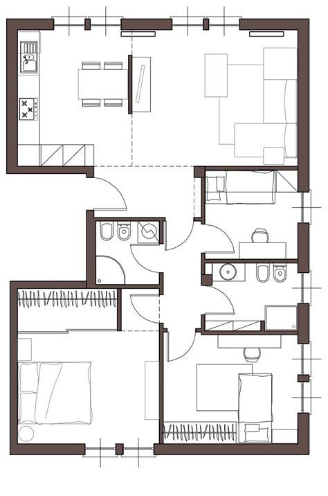 progetto di una casa da casa tradizionale ad abitazione moderna e attuale