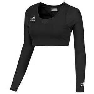 Sports Sleeve Top adidas techfit powerweb sports bra top medium m