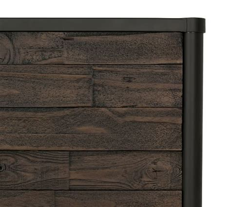 juno reclaimed wood bed pottery barn