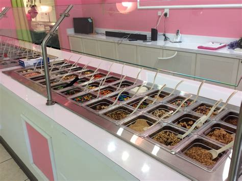 yogurt bar toppings used frozen yogurt machines archives