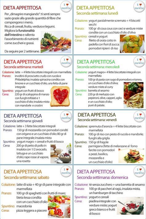 dieta alimentare per dimagrire dieta appetitosa per perdere qualche chilo senza soffrire