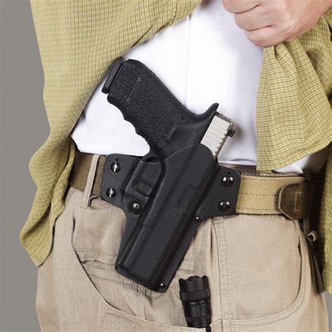 hülster bett time owb iwb holster inside the waistband iwb
