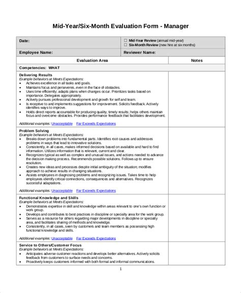 Mid Year Review Template employee review templates 10 free pdf documents free premium templates