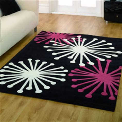 Pink Black Rug by Carpets Rugs Laminate Flooring Karndean Carpet