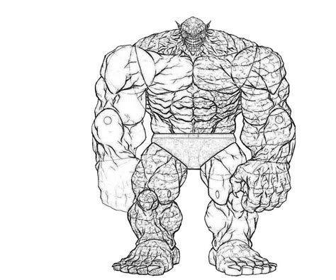 hulk abomination coloring pages abomination free coloring pages