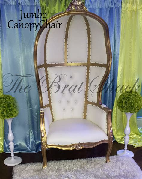 Baby Shower Chair Rental by Canopy Chair For Rent The Brat Shack Store