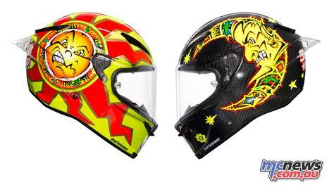 valentino rossi motocross helmet valentino rossi helmet goes back to the future mcnews com au