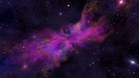 colorful universe universe colorful purple nebula dust and gas