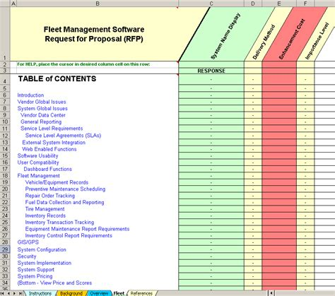 fleet management report template choice image templates