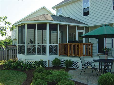 Garage With Screened Porch Sunrooms Screen Porches 187 Kee Construction