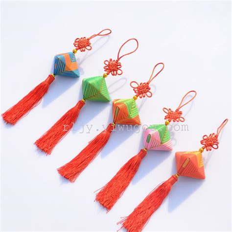 dragon boat festival arts and crafts supply large sachet featured chinese dragon boat festival