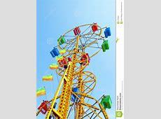 The double ferris wheel stock photo. Image of park ... Ferris Wheel Vector Free Download