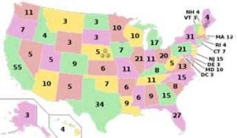 education world electoral college map template education world lesson the electoral college