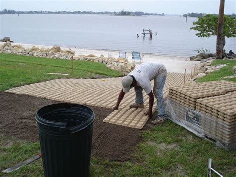 Home Depot Yard Design by Jetson Green A Permeable Solution With Drivable Grass