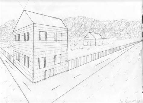 2 Point Perspective House Drawing Lesson by House Perspective Drawing By Kephart Design On Deviantart