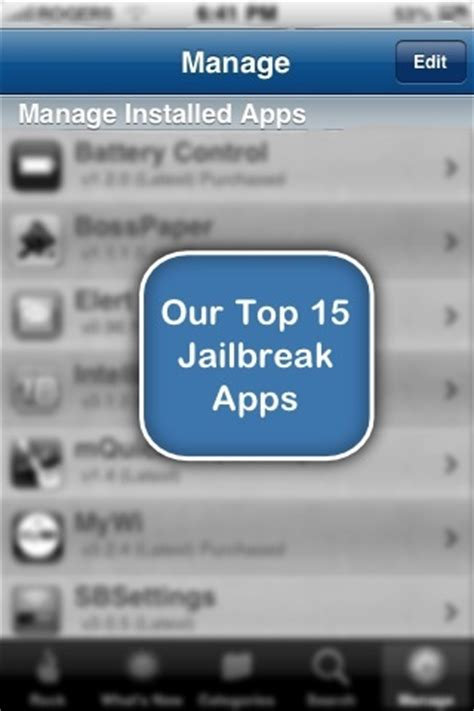 top 10 essential jailbreak apps for your iphone ipad or our top 15 iphone jailbreak apps isource