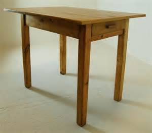 kitchen dining farmhouse table small antique pine waxed