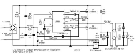 ballast inductor design how electronic ballast works one by zero electronics