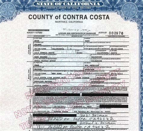 Contra Costa County Divorce Records Marriage Certificate Shows Orlando Shooter Married Months After Divorce Orlando
