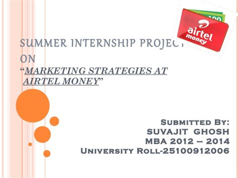 Diageo Summer Internship Mba Strategy by Airtel Money