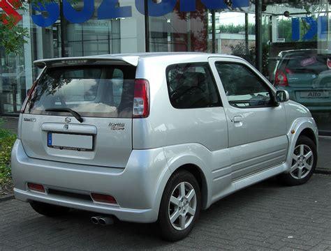 Suzuki Ignis Wiki File Suzuki Ignis Sport I Rear 20100704 Jpg