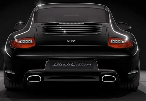 porsche 911 back back in black the 2011 porsche 911 black edition rar