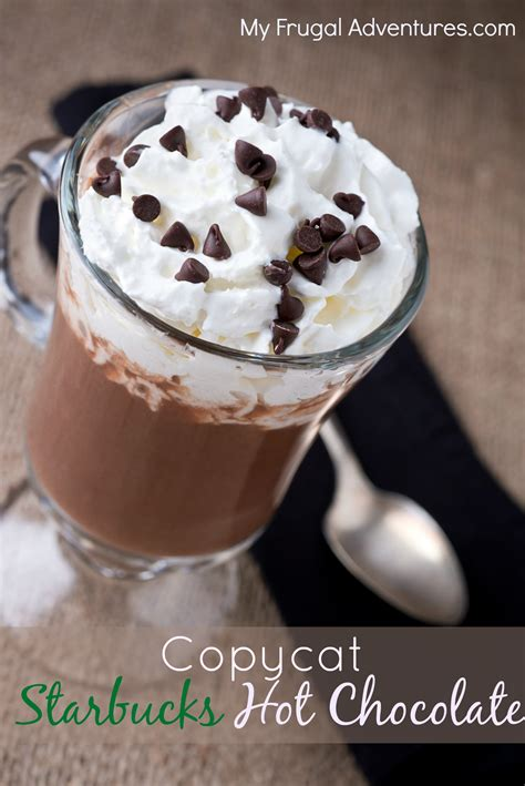 best hot chocolate recipe copycat starbucks hot chocolate recipe quick easy