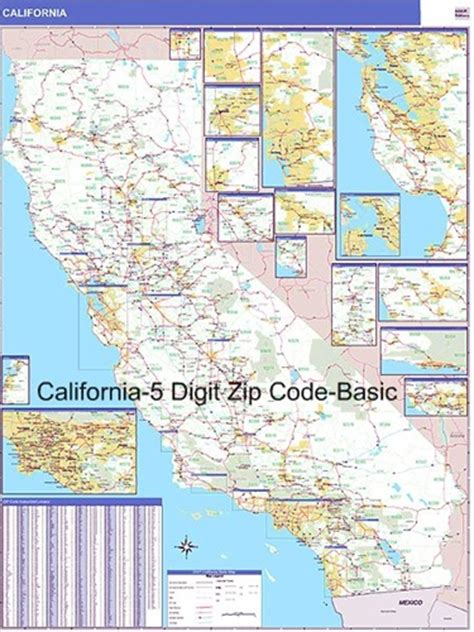 california zip code california zip codes map california map