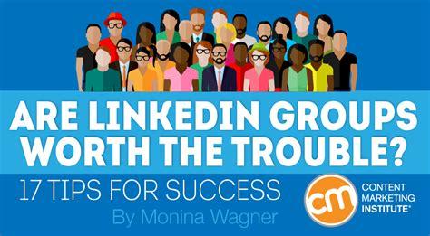 linkedin groups 17 success tips