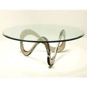 Coffee table with round beveled glass top luxury round coffee table