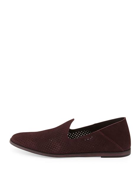 pedro garcia loafer pedro garcia yara perforated suede loafers in lyst